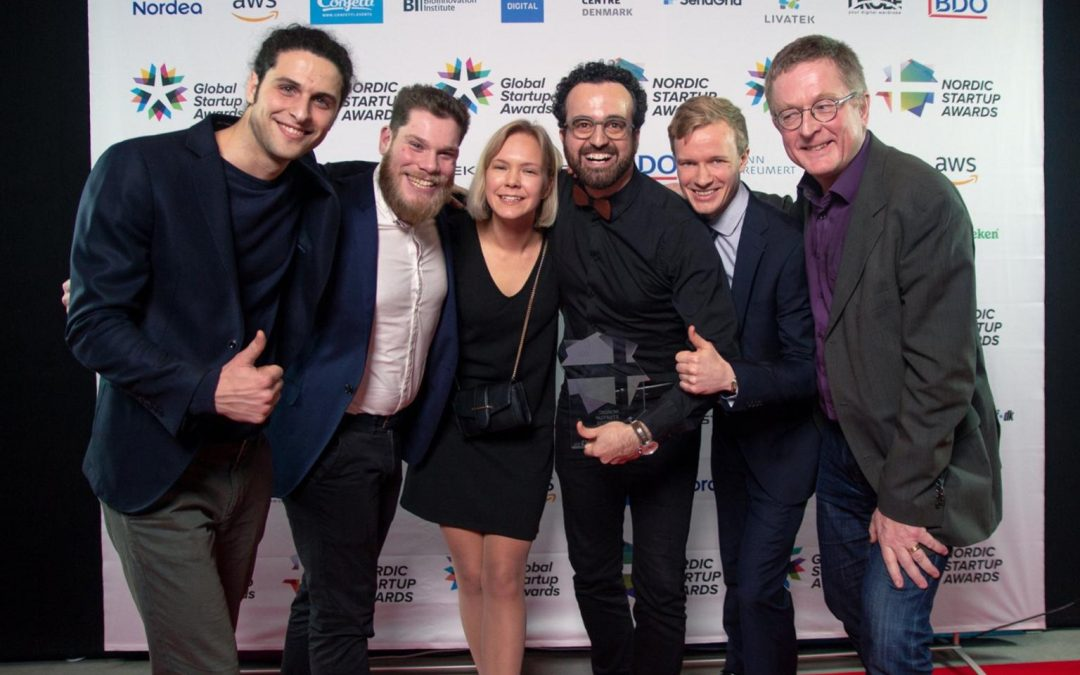 Grib won the Nordic Startup Awards in the Creative Industry Category